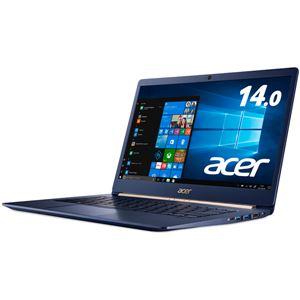 Acer Swift 5 SF514-52T-H58Y/B (Core i5-8250U/8GB/512GBSSD/ドライブなし/14.0/Windows 10 Home 64bit/チャコールブルー)