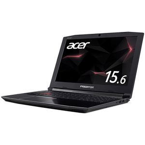 Acer PH315-51-A76H (Core i7-8750H/GeForceGTX1060/16GB/256GB SSD+1TB HDD/ドライブなし/IPS 15.6型 144Hz/Windows 10Home(64bit)/シェールブラック