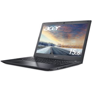 Acer TMP259G2M-N78U/HL6 (Core i7-7500U/8GB/256GBSSD/DVD+/-RW/15.6 型/フルHD/Windows 10 Pro 64bit/1年保証/ブラック/OfficePersonal 2016)