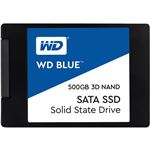 WESTERN DIGITAL(SSD) WD Blue 3D NANDシリーズ SSD 500GB SATA 6Gb/s 2.5インチ7mm cased 国内正規代理店品