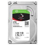 Seagate Guardian IronWolfシリーズ 3.5インチ内蔵HDD 2TB SATA 6.0Gb/s5900rpm 64MB