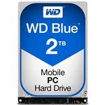 WESTERN DIGITAL WD Blue 2.5インチ 7mm 内蔵HDD 2TB