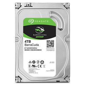 Seagate Guardian Barracudaシリーズ 3.5インチ内蔵HDD 4TB SATA6.0Gb/s 5400rpm 256MB - 拡大画像
