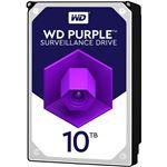 WESTERN DIGITAL WD Purple 3.5インチ内蔵HDD 10TB SATA6Gb/s Intellipower256MBキャッシュ AF対応