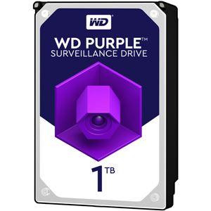 WESTERN DIGITAL WD Purpleシリーズ 3.5インチ内蔵HDD 1TB SATA6Gb/sIntellipower 64MBキャッシュ AF対応 - 拡大画像