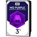 WESTERN DIGITAL WD Purpleシリーズ 3.5インチ内蔵HDD 3TB SATA6Gb/sIntellipower 64MBキャッシュ AF対応