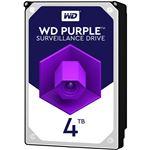 WESTERN DIGITAL WD Purpleシリーズ 3.5インチ内蔵HDD 4TB SATA6Gb/sIntellipower 64MBキャッシュ AF対応