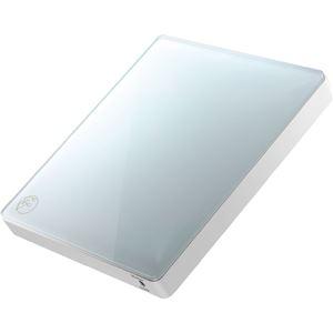 アイ・オー・データ機器 スマートフォン用CDレコーダー 「CDレコ」 アイスグレー - 拡大画像