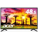 Acer 48.5型ワイド液晶ディスプレイ EB490QKbmiiipfx(IPS/半光沢/3840x2160/4K/16:9/300cd/m2/100000000:1/4ms/ブラック/HDMI(HDCP2.2対応)/ミニD-Sub15ピン/DisplayPort)