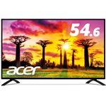 Acer 54.6型ワイド液晶ディスプレイ EB550Kbmiiipx(IPS/半光沢/3840x2160/4K/16:9/300cd/m2/100000000:1/4ms/ブラック/HDMI(HDCP2.2対応)/ミニD-Sub15ピン/DisplayPort)