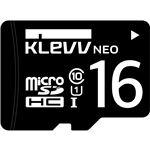 ESSENCORE KLevv microSDHCメモリーカード 16GB Class10 UHS-I U1SDアダプター付