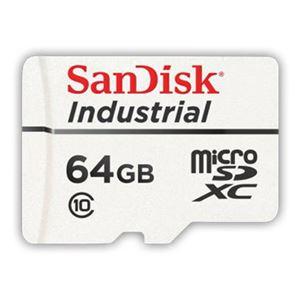 サンディスクIndustrialmicroSDXCカード64GBClass10高耐久性モデル国内正規代理店品