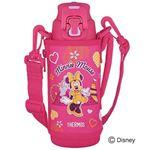 サーモス 真空断熱スポーツボトル 0.5L Disney ピンクパープル