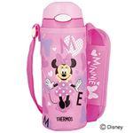 サーモス 真空断熱ストローボトル 0.4L Disney ピンクハート