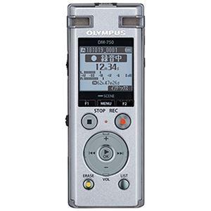 オリンパス ICレコーダー Voice-Trek (シルバー) DM-750 SLV - 拡大画像