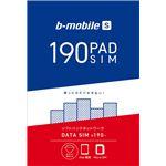 日本通信 b-mobile S 190PadSIM (マイクロSIMパッケージ)