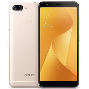 ASUS TeK ZenFone Max Plus (M1) (MediaTek MT6750T / メモリ4GB /ストレージ32GB) サンライトゴールド