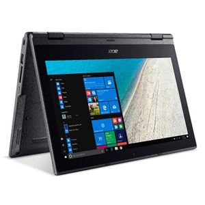 Acer TMB118G2R-F14Q (Celeron N4100/4GB/128GBSSD/11.6/Windows 10 Pro64bit/コンバーチブル/モバイル/1年保証/マットブラック/Officeなし)