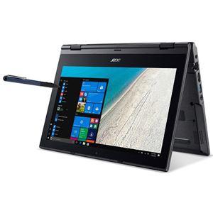 Acer TMB118G2RN-F14QB6 (Celeron N4100/4GB/128GBSSD/11.6/Windows 10 Pro 64bit/WindowsInk/コンバーチブル/モバイル/1年保証/マットブラック/Office Home&Business 2016)