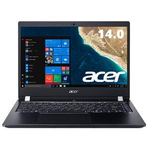 Acer TMX3410M-F78UB (Core i7-8550U/8GB/256GB SSD+500GBHDD/ドライブなし/14型/フルHD/指紋認証/Windows 10 Pro64bit/LAN/HDMI/1年保証/Officeなし)
