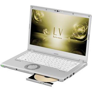 パナソニック Let's note LV7 店頭(Core i5-8250U/SSD256GB/RAM16GB/SMD/W10Pro64/14FullHD/シルバー/LTE/保証延長無料+3年キャンペーン5/31まで)