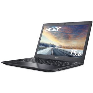 Acer TMP259G2M-F58UBL6 (Core i5-7200U/8GB/256GBSSD+500GB HDD/DVD+/-RW/15.6型/フルHD/Windows 10 Pro64bit/1年保証/ブラック/Office Personal 2016)
