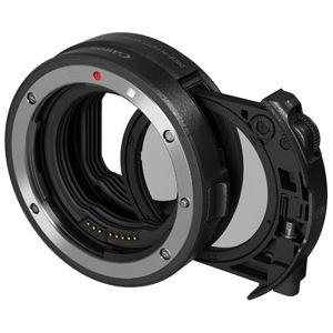 キヤノン ドロップインフィルター マウントアダプター EF-EOS R 円偏光フィルター A付