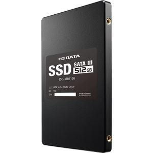 アイ・オー・データ機器 Serial ATA III対応 内蔵2.5インチSSD 512GB