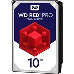 WESTERN DIGITAL WD Red Pro 3.5インチ内蔵HDD 10TB SATA6Gb/s 7200rpm256MB