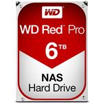 WESTERN DIGITAL WD Red Proシリーズ 3.5インチ内蔵HDD 6TB SATA6.0Gb/s 7200rpm256MB