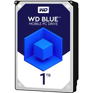 WESTERN DIGITAL WD Blue 2.5インチ内蔵HDD 1TB SATA 6Gb/s 5400rpm128MB - 拡大画像