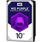 WESTERN DIGITAL WD Purpleシリーズ 3.5インチ内蔵HDD 10TB SATA6Gb/s 7200rpm256MBキャッシュ AF対応