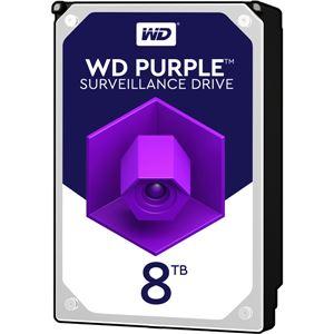 WESTERN DIGITAL WD Purpleシリーズ 3.5インチ内蔵HDD 8TB SATA6Gb/s 5400rpm256MBキャッシュ AF対応 - 拡大画像