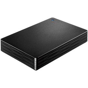 アイ・オー・データ機器 USB3.1 Gen1/2.0対応ポータブルハードディスク「カクうす Lite」 ブラック5TB