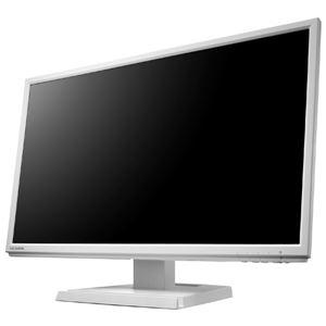 アイ・オー・データ機器 「5年保証」広視野角ADSパネル採用 DisplayPort搭載21.5型ワイド液晶ディスプレイホワイト