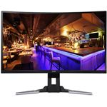 Acer 31.5インチゲーミング液晶モニター XZ321QUbmijpphzx(VA/非光沢/2560x1440/WQHD/300cd/1ms/144Hz/HDMI・DisplayPort/miniDisplayPort/Free-Sync/HDR)