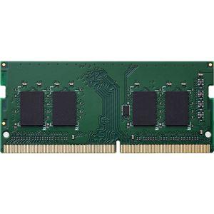 エレコム EU RoHS指令準拠メモリモジュール/DDR4-SDRAM/DDR4-2666/260pinS.O.DIMM/PC4-21300/8GB/ノート
