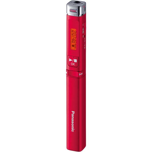 パナソニック(家電) ICレコーダー (レッド) RR-XP009-R