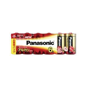 パナソニック(家電) アルカリ乾電池 単2形 6本シュリンクパック