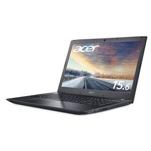 Acer TMP259G2M-F78UBL9 (Core i7-7500U/8GB/256GBSSD+500GB HDD/DVD+/-RW/15.6型/フルHD/Windows 10 Pro64bit/1年保証/ブラック/Office Personal 2019) - 拡大画像