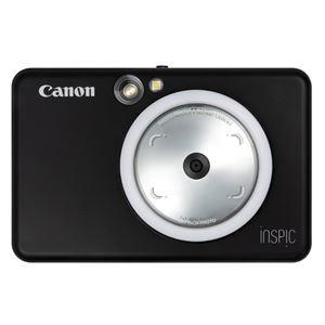キヤノン インスタントカメラプリンター iNSPiC ZV-123-MBK マットブラック - 拡大画像