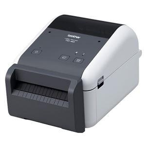 4インチラベル幅感熱ラベルプリンター/300dpi/USB/RS-232C - 拡大画像