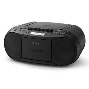 CDラジオカセットコーダー ブラック CFD-S70/B - 拡大画像
