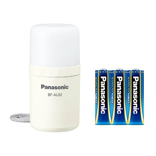乾電池エボルタNEO付き LEDランタン (ホワイト) BF-AL02K-W