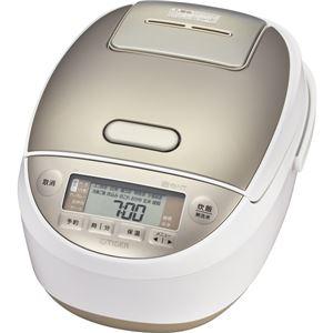圧力IH炊飯ジャー〈炊きたて〉 1升 ホワイト JPK-A180W - 拡大画像