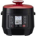 マイコン電気圧力鍋 レッド