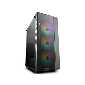 MATREXX 55 ADD-RGB 3F (アドレサブルRGB対応120mmファン3基とLEDストリップを標準搭載 E-ATXフォームファクタ対応ミドルタワーPCケース) - 拡大画像