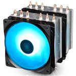 NEPTWIN RGB (RGBLED対応デュアルファン搭載ハイエンドCPU対応の空冷CPUクーラー)