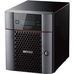 バッファロー ハードウェアRAID TeraStation WSH5420DNW9シリーズ 4ベイデスクトップNAS 8TB Workgroup