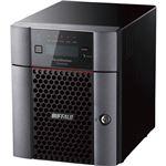 バッファロー ハードウェアRAID TeraStation WSH5420DNW9シリーズ 4ベイデスクトップNAS 24TB Workgroup